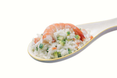 dieta: rise with shrimp