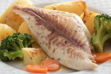 roast fish fillet