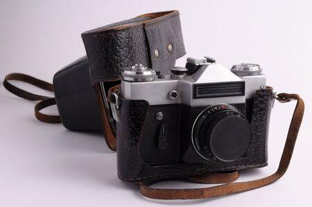 reflex: Vecchia fotocamera reflex