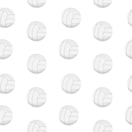 Sport background design. Sport balls vector pattern Stock Illustratie