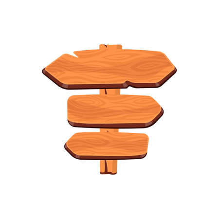 Wood board vector. Illustration of Wooden banner, Signpost, Signboard