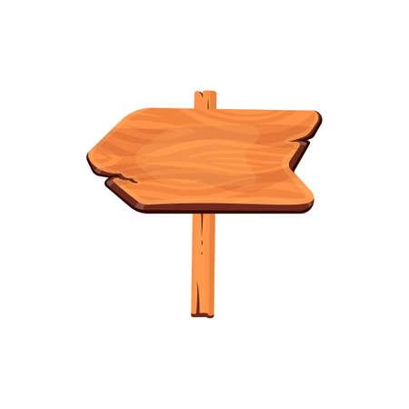 Wood board vector. Illustration of Wooden banner, Signpost, Signboard.