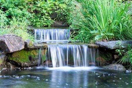 cascade: Little Water Cascade Stock Photo