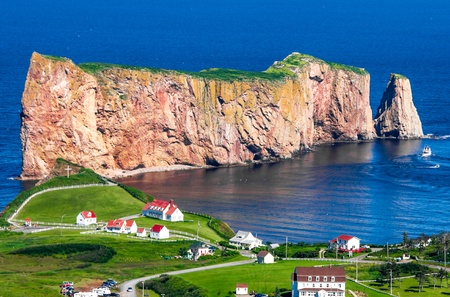 Perce Rock in Gaspe Quebec