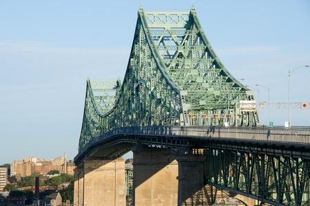 Jacques-Cartier Bridge of Montreal, Quebec 1 Banco de Imagens