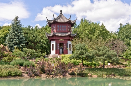 Chinese Temple in Montreal Stock Photo - 14875676