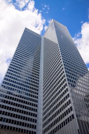 pesantezza: Grattacielo di Montreal Archivio Fotografico