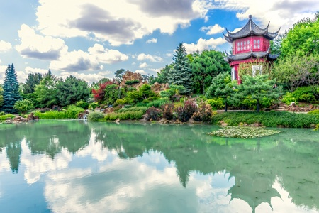 chinoiserie: Chinese Temple Garden in Montreal