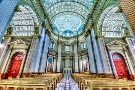 image of Interior of the Basilica of Mary Queen of the World in Montreal