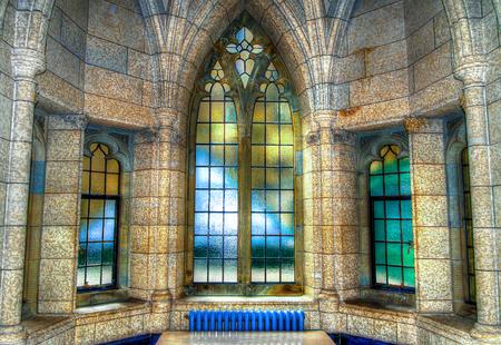 A imagem HDR de Arquitect Banco de Imagens