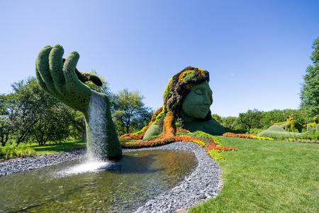 Mosaicultures Internacionais de 2013, Montreal Botanical Garden 22 de junho no 29 de setembro uma cole Editorial