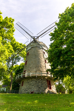 Fleming windmill, Year of construction 1827, second largest windmill in Quebec, Canada