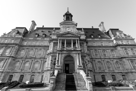 Main building of the City Hall in Montreal photo