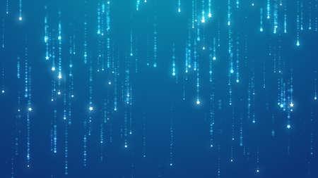 starfall: Starfall background. UHD 2160p. 4K resolution 3840x2160. Stock Photo