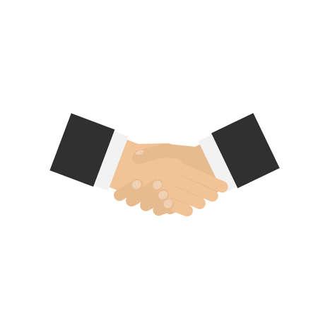 Handshake. Partnership. Hands, vector illustration