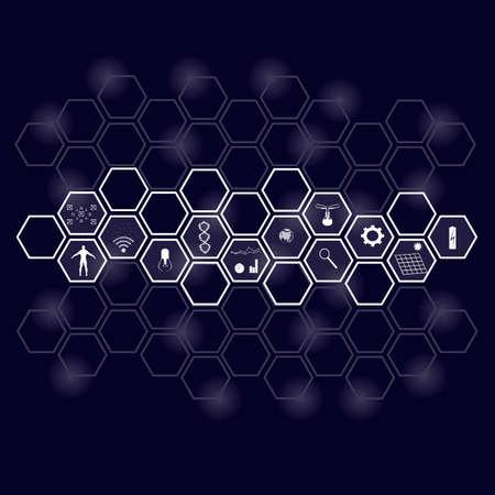 Infographics. Information technology. Communication Vector illustration Ilustracje wektorowe