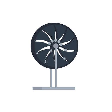 Perpetual motion machine, vector illustration