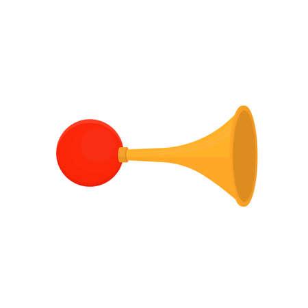 Signal horn. Sound signal, vector illustration Ilustrace