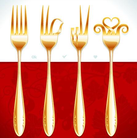 famine: golden fork gestures