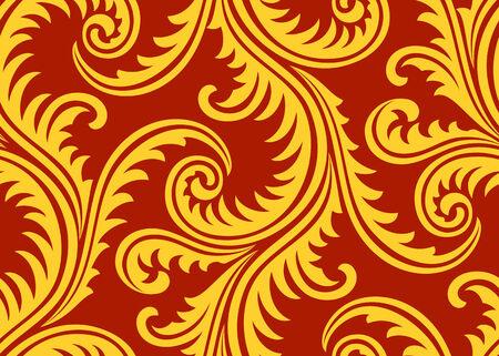 textile: Frost on window seamless pattern