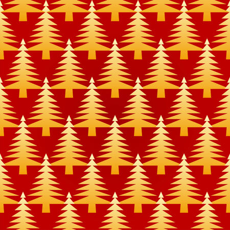 Seamless Christmas background Stock Vector - 8202486