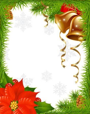 Christmas greeting card 2 Vector