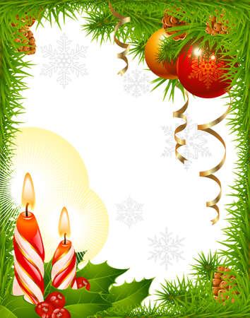 Christmas greeting card Stock Vector - 8202526