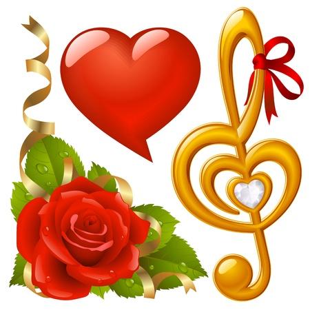 Valentines Day set 3 Vector