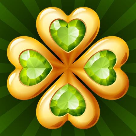 gems: Golden clover