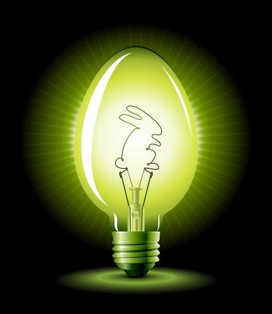 holder: Easter bulb