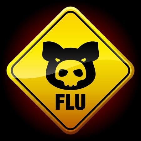 swine: Warning H1N1 sign
