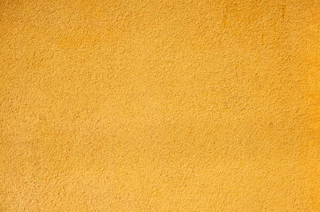 Surface Of The Wall, Painted With Bright Yellow Oil Paint ...