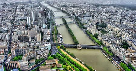 Paris Panorama View