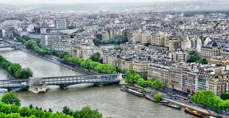 Paris Aerial Panorama