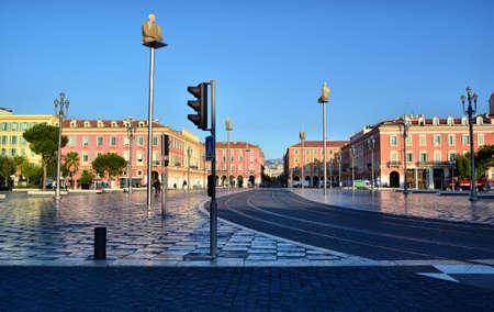 Center of Nice France  12 May 2014