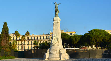 Monument in Nice France  12 May 2014