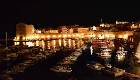 Dubrovnik at Night October 2014