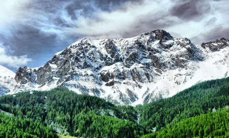 Italian Alps  Monte Bianco