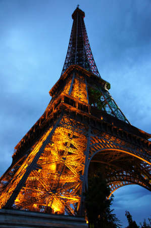 awesome wallpaper: Eiffel Tower Lights November 2014