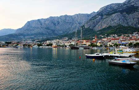 Makarska Croatia August 2014 Editorial