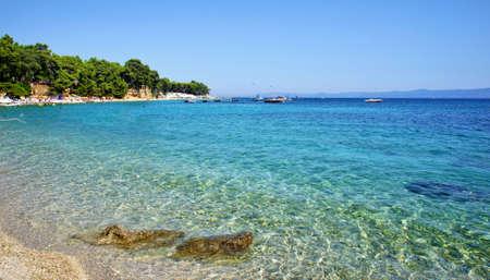 Adriatic Sea Croatian Riviera Stock Photo
