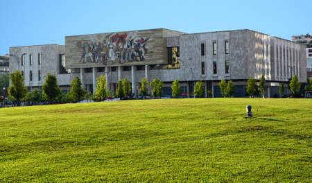 National Museum in Tirana Albania