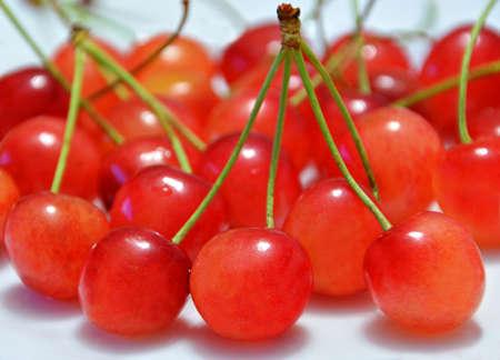 Cherries Macro Closeup