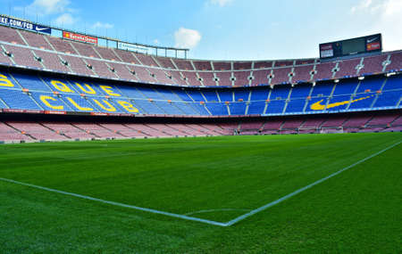 Camp Nou Stadium Barcelona October 2014