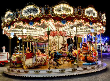 Kids Game Carousel in Monte Carlo
