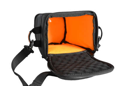 dslr: DSLR Camera Bag Stock Photo