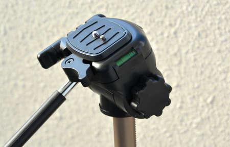 DSLR Camera Tripod Stock Photo