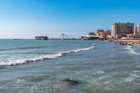 DURRES, ALBANIA - CIRCA MARCH 2017: City view