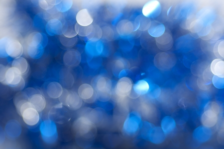 Dark blue sparkles photo