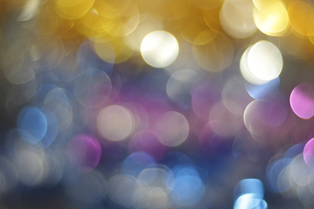 Multi Colored beautiful bokeh photo
